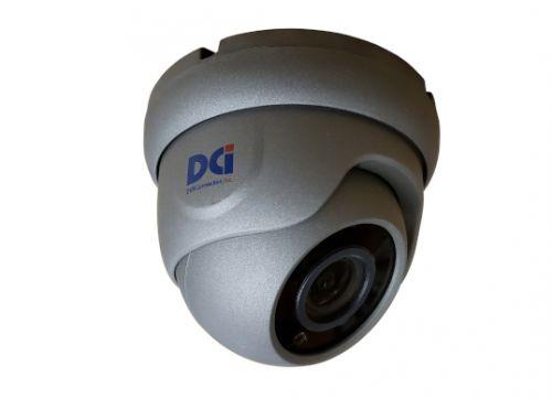 DOM-TVSR4K4EG 8MP Gray 4mm Fixed Lens Dome