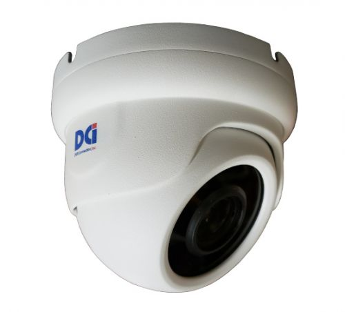 DOM-TVSR4K411MEW 8MP Motorized Dome 4-11mm Lens White