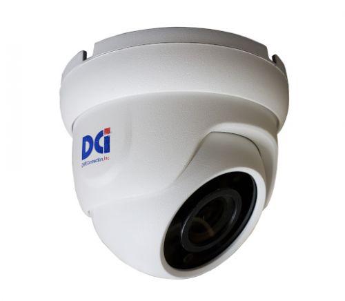 DOM-TVSR4K4EW 8MP White 4mm Fixed Lens Dome