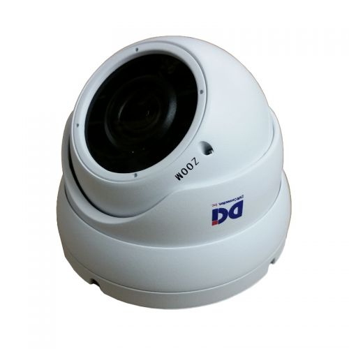 DOM-TVSR5M212EW White 5MP Varifocal Lens Dome