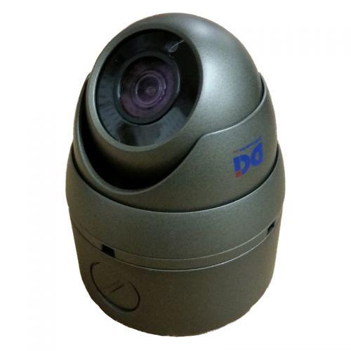 DOM-TVSR5M306EG-B Gray 4MP Fixed Lens Mini Dome w/Base