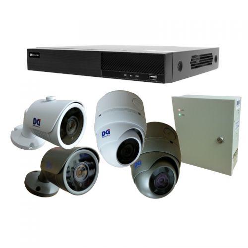 DVR-TXED8801HKT 8ch 5MP DVR Kit w/Cameras