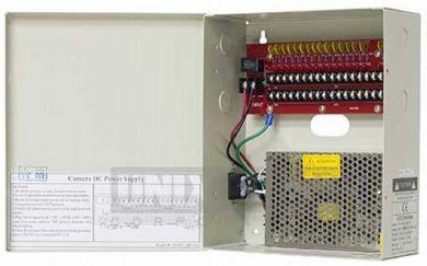 PSP-12VDC18P20  12VDC 18 Port, 20 amp Power Distribution Panel