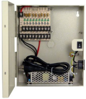 PSP-12VDC4P5 12 VDC 4 port power distribution panel 5A