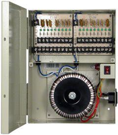 PSP-24VAC18P18 24V A/C 18 Port 18Amp Power Supply Panel