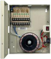 PSP-24VAC9P 24V AC 8A 9 port power distribution panel